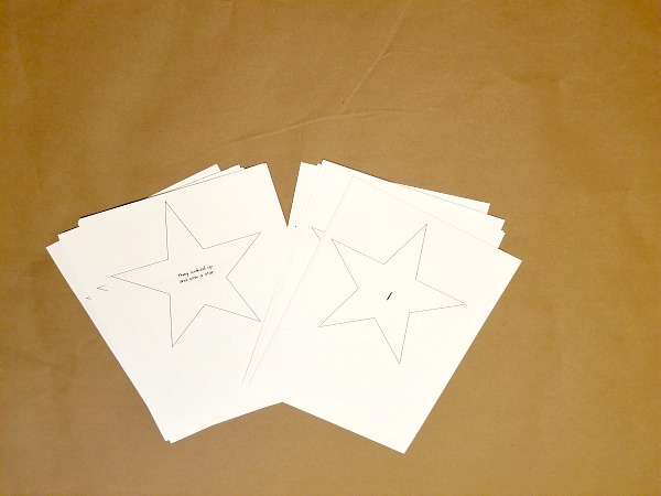 Advent Star Printables