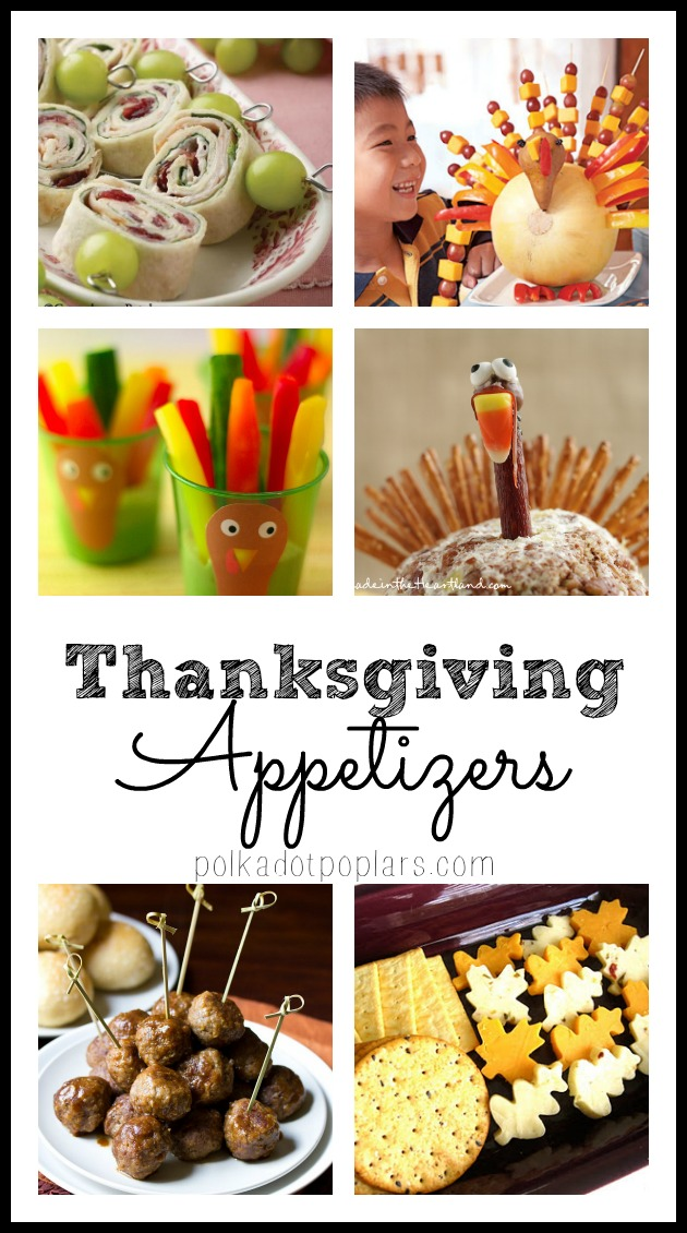 Roundup of Thanksgiving Appetizers