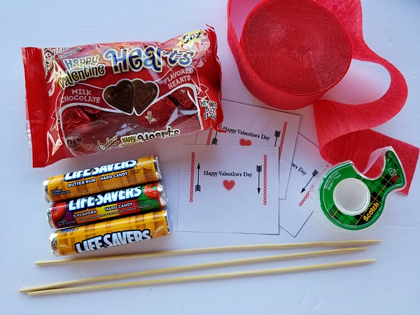 Candy Arrow Supplies