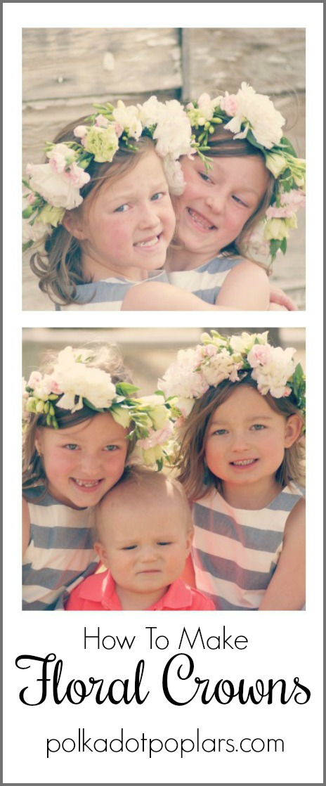 Little Girls With Floral Crowns