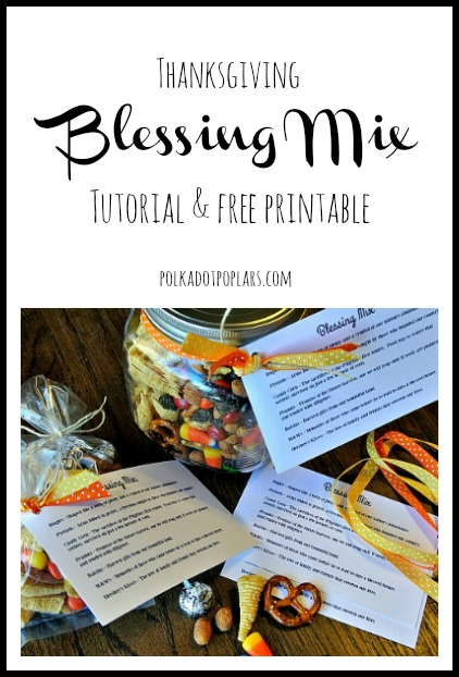 Blessing Mix Free Printable