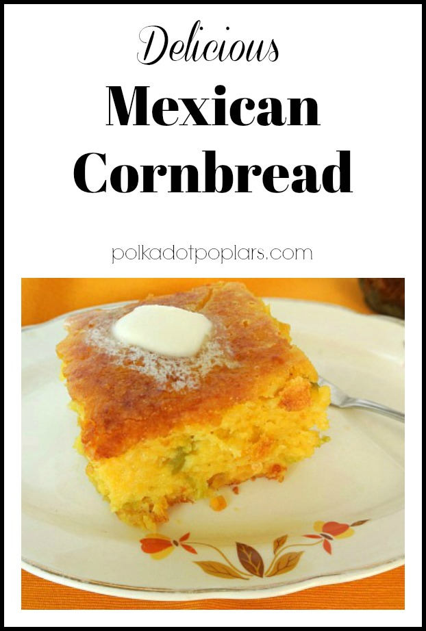 Plate of Mexican Cornbread