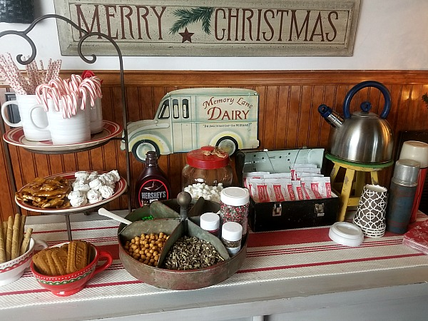 Hot Chocolate Bar