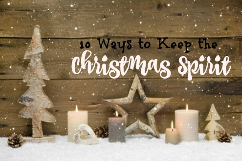 Ways to find the Christmas spirit