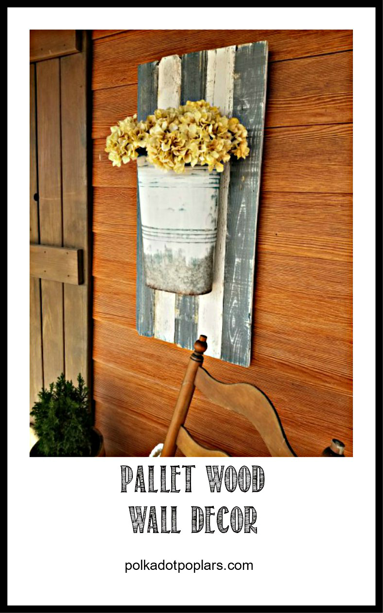 Pallet Wood Planter DIY