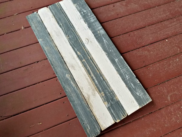 painted pallet wood sign