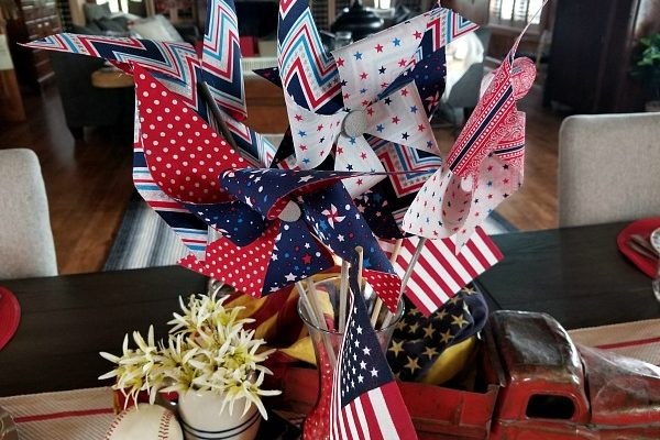 DIY Fabric Pinwheels