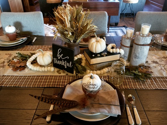 earth tone fall decor