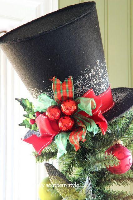 Frosty's Hat Tree Topper