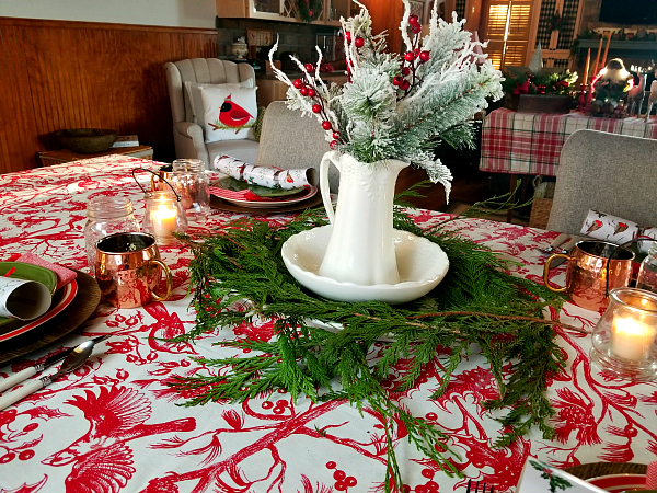 Festive Christmas Centerpiece
