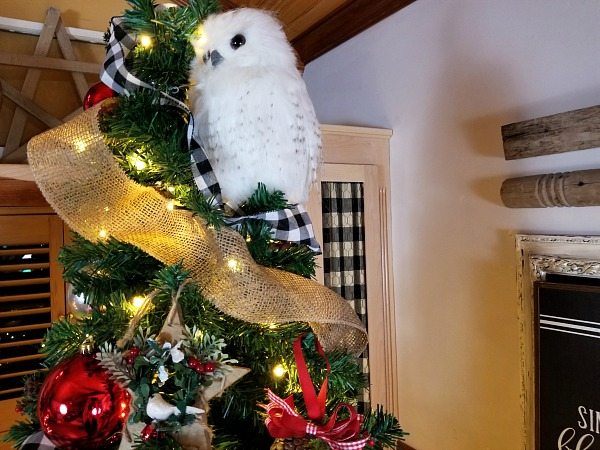 Owl Christmas Tree Decor