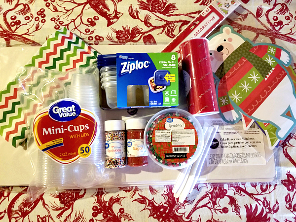 Supplies for Sugar Cookie Kit