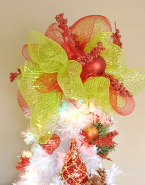 Colorful Tree Topper
