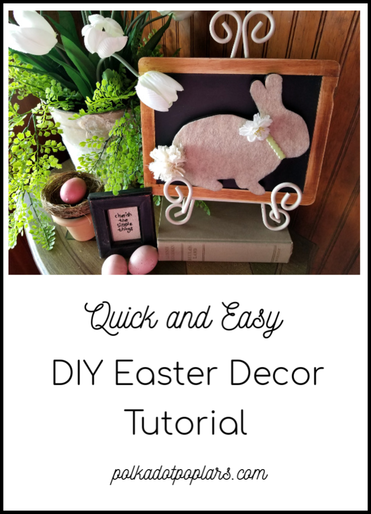Make a wood Easter bunny