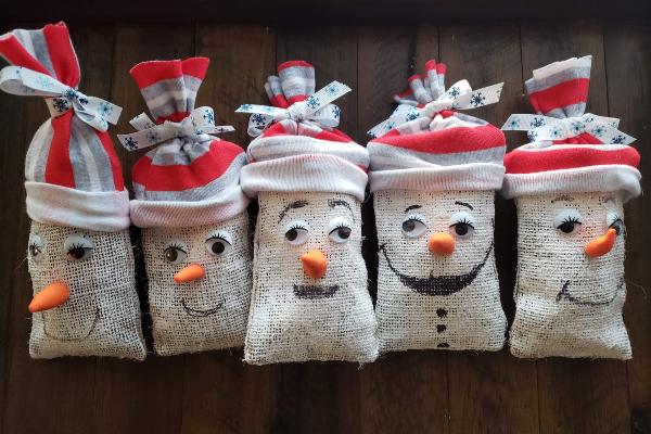 Kid's Snowman Craft