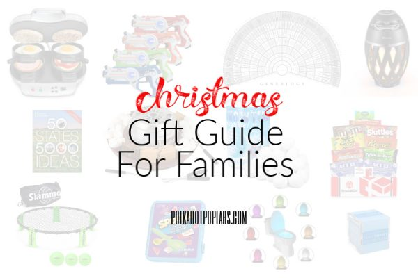 Christmas Gift Guide For Families