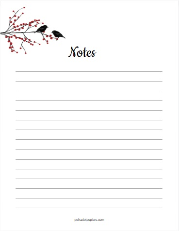 Christmas Notes