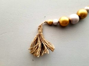 Beaded Ornament With A Tassel