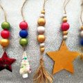 Bright Beaded Ornaments