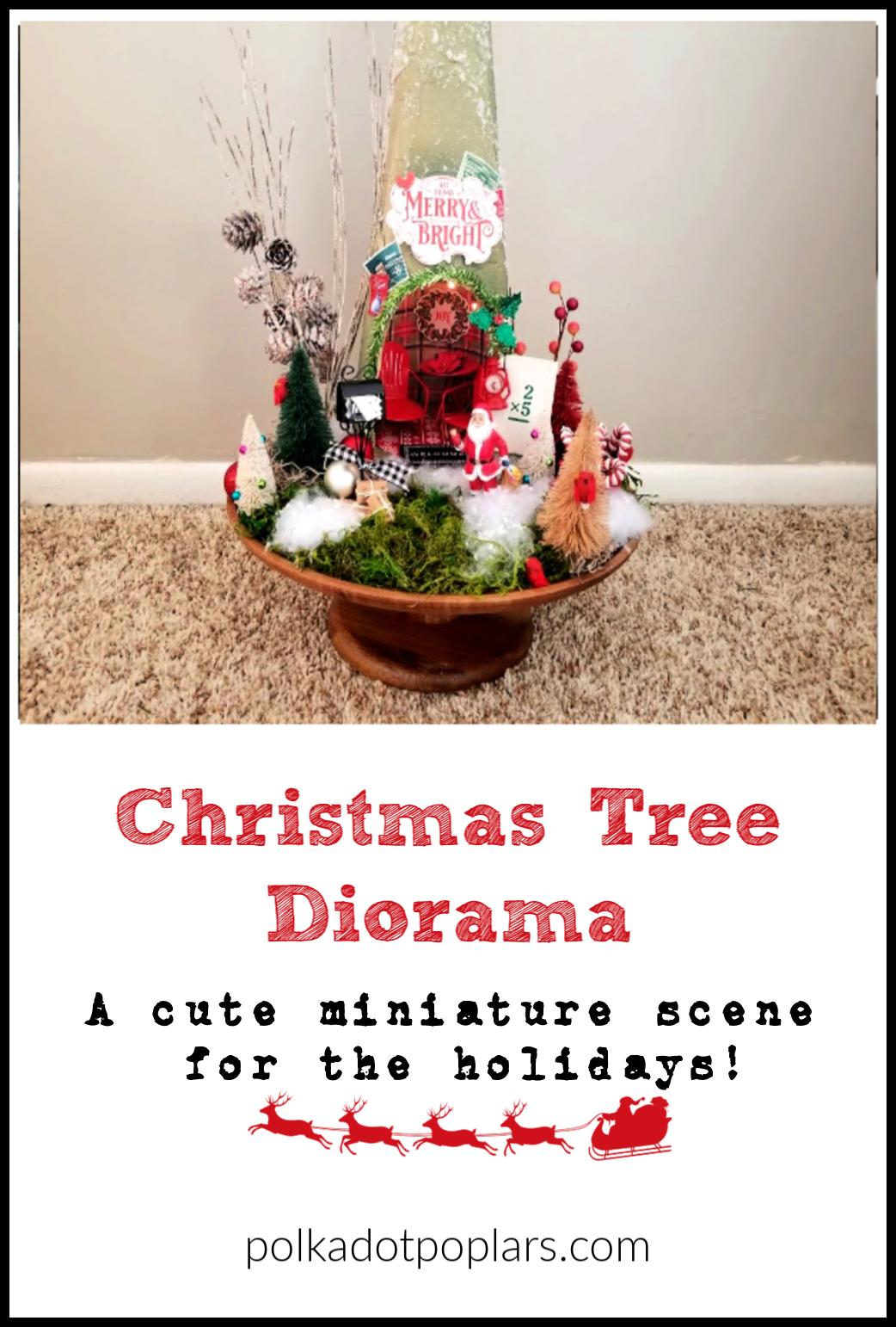 Miniature Christmas Scene