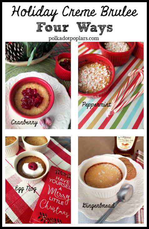 Four Holiday Desserts