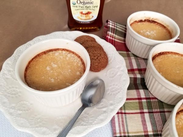 Gingerbread Creme Brulee Dessert