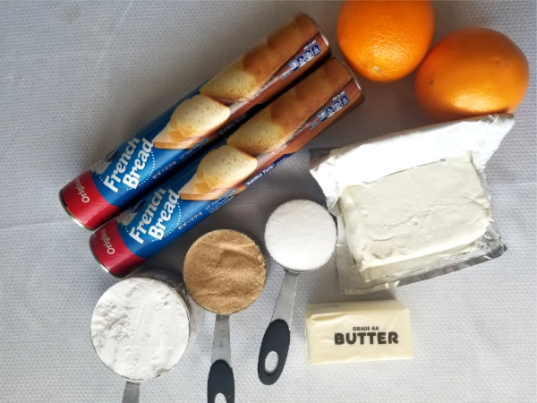 Orange Roll Ingredients