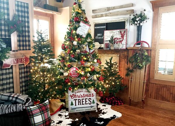 Rustiic Christmas Decor